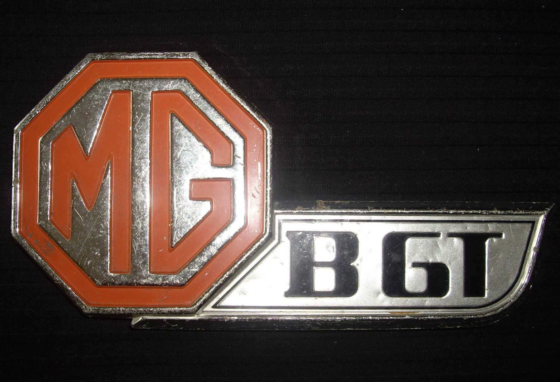 MG Boot Badge - Older
